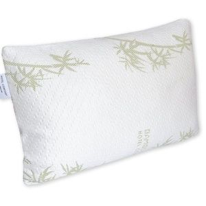 Price ⬇️ NWOT memory foam pillow w/ bamboo cover